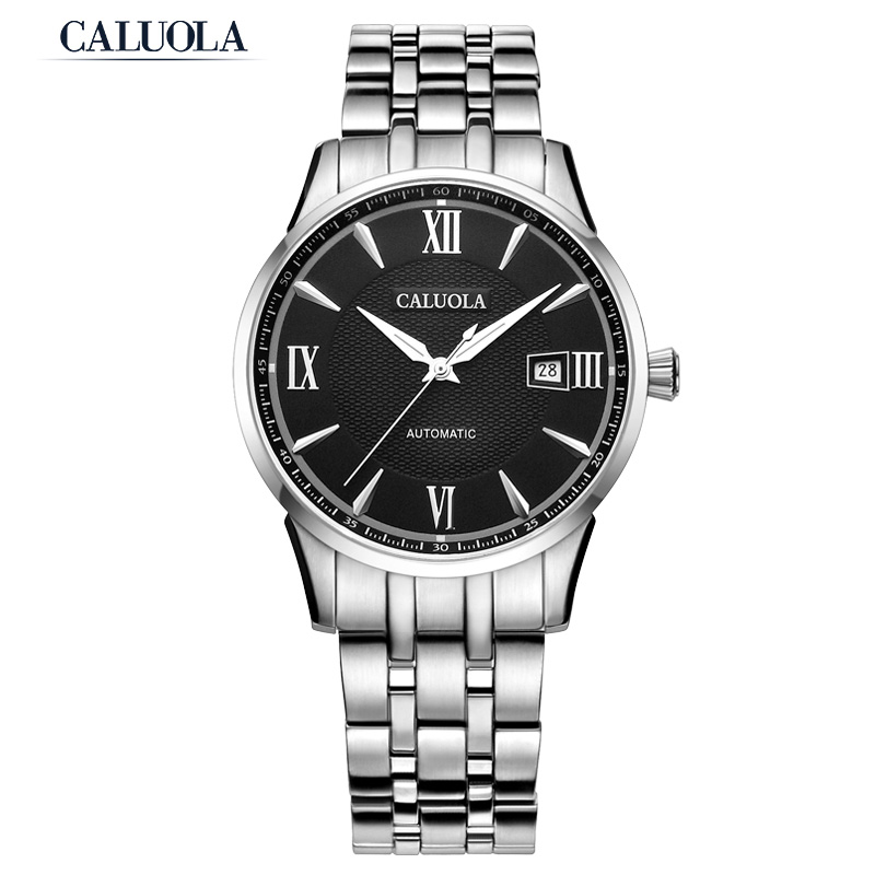 Caluola Automatic Watch Men Watch Business Date Casual Watch CA1020MM