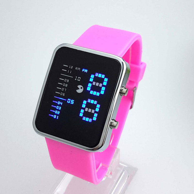 Fashion Women Watch Binary System Electric Watch Calendar Luminous