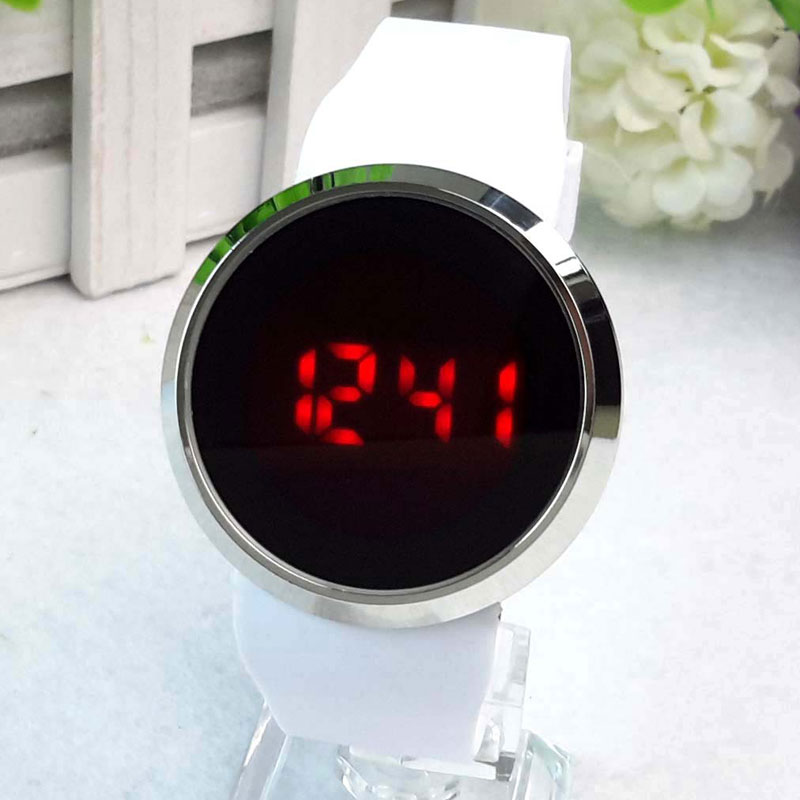 Fashion Men Watch Touch LED Electric Digital Watch