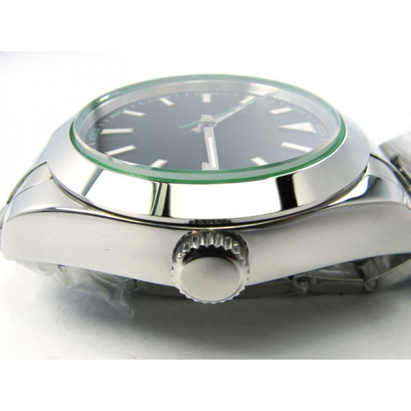 Parnis Hiking Watch Stee Case Milgauss Hands Automatic Watch