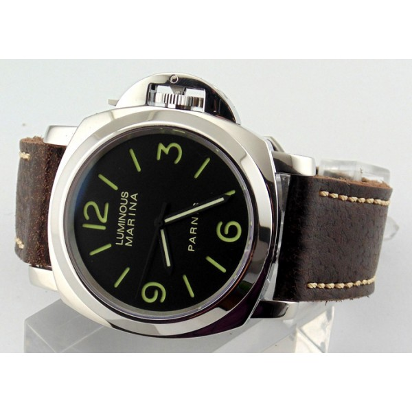 Parnis Luminous Marina Militare Watch 44MM Black Dial Automatic Watch