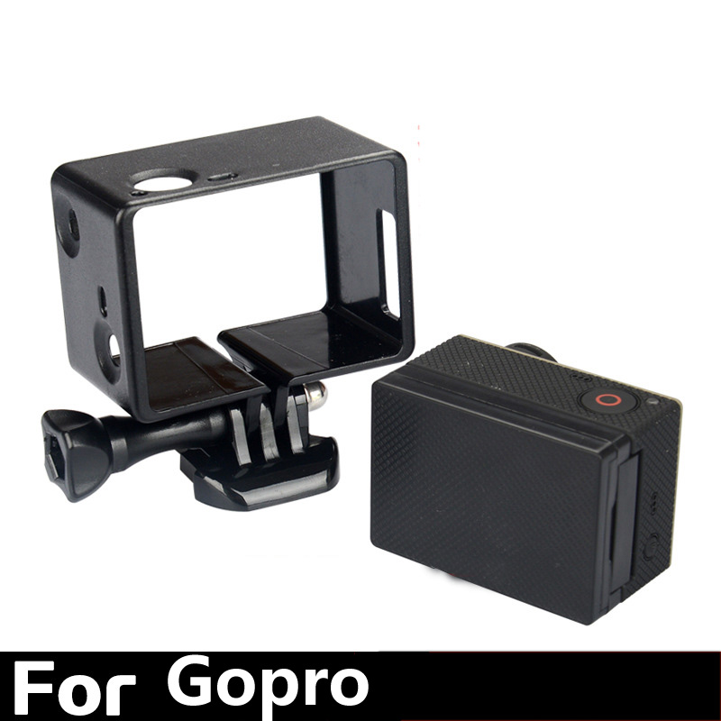 Gopro hero4/3+ Action Camera Accessories Standard Border Frame Mount Case Protective Shell