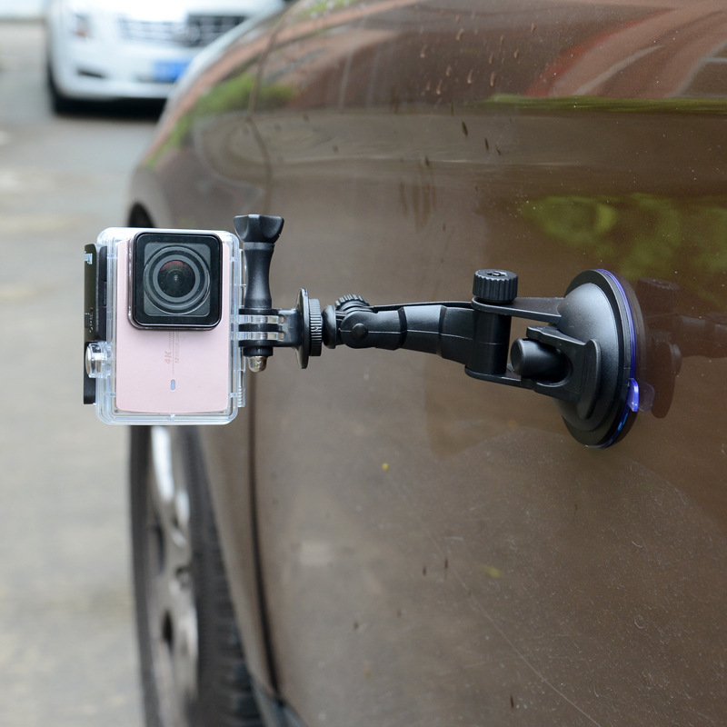 Portable 7cm Suction Cup for GoPro Hero 5/3+ /4 Session Xiaoyi 4K Camera Car Window Sucker Go Pro Stand Mount