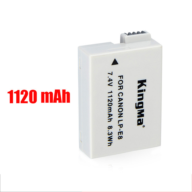 High Quality LP-E8 Canon EOS700D 600D 650D 550D SLR camera battery accessory Non original
