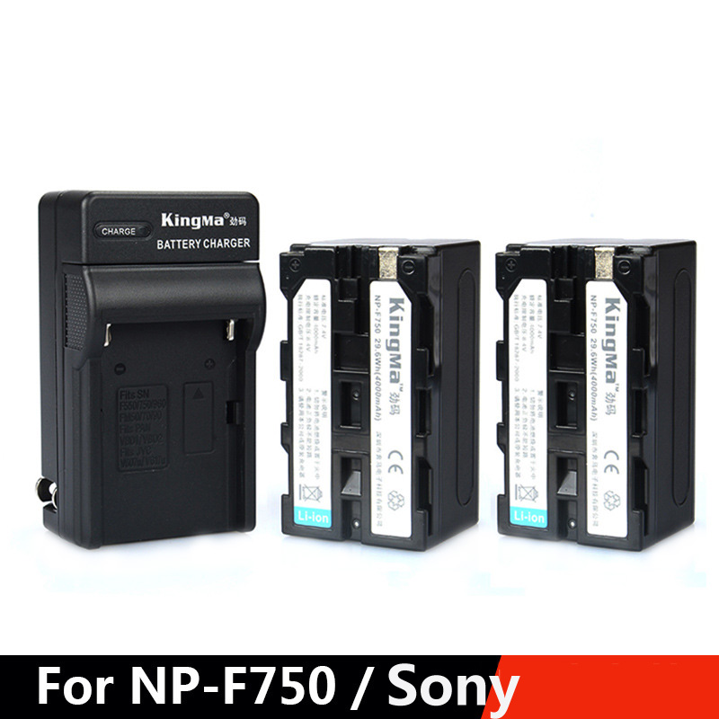 Np f970 np f970 np f960 digital camera li ion battery for led video kingma 2pcs camera battery 72v 4000mah 1 charger for sony np f750 fandeluxe Images