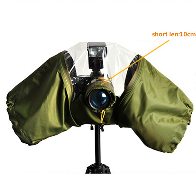 Waterproof Camera Rain Cover Coat Bag Protector Rainproof Raincoat Against Dust for Canon Nikon