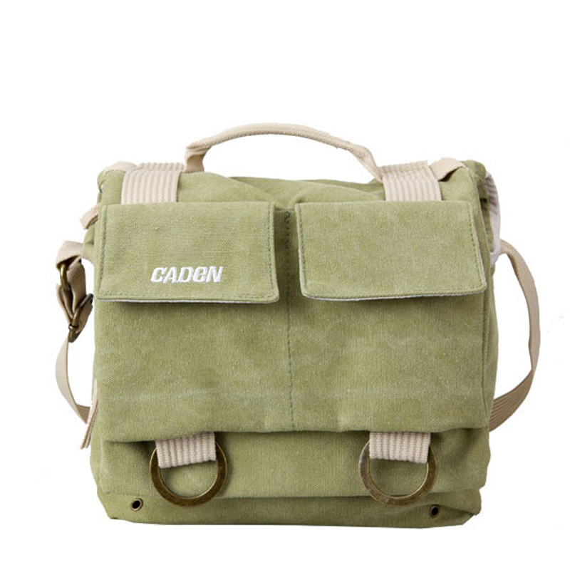 Professional DSLR camera Canvas bag/case photo Single Shoulder Backpack waterproof