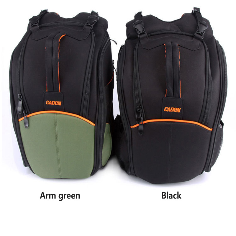 Large capacity Professional DSLR camera bag photo Shoulder Backpack waterproof