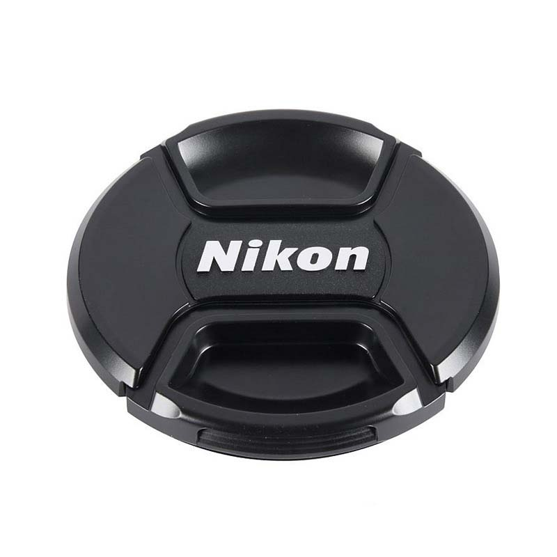 Center Pinch/ both side Pinch Lens Cap Cover for Canon nikon SLR camera len cover len accessory Clearance
