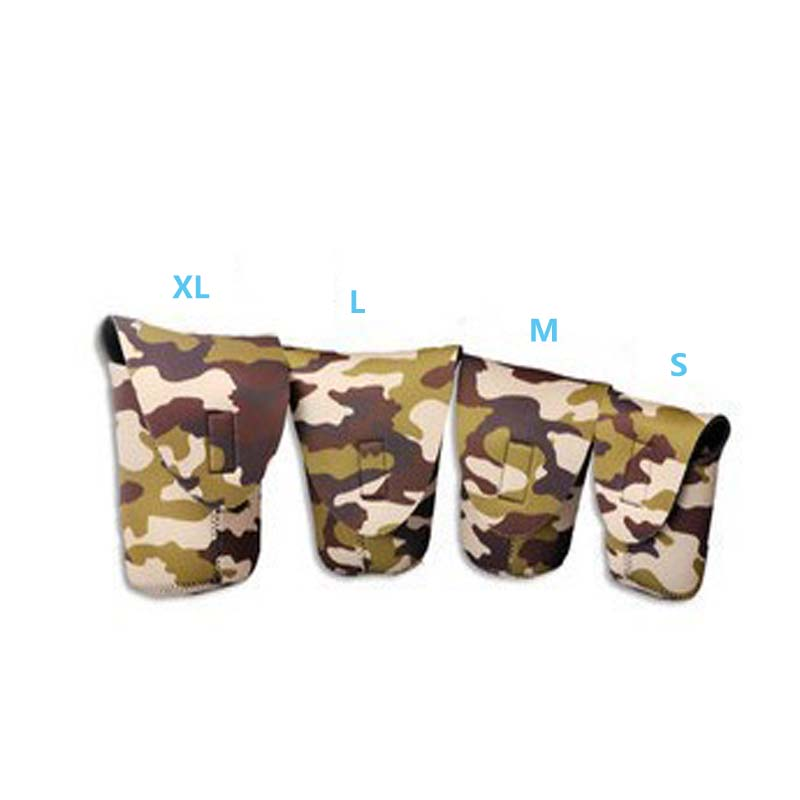 Camera Lens Case Black Red Camouflage Storage Lens Bag Lens Pouch photography accessory