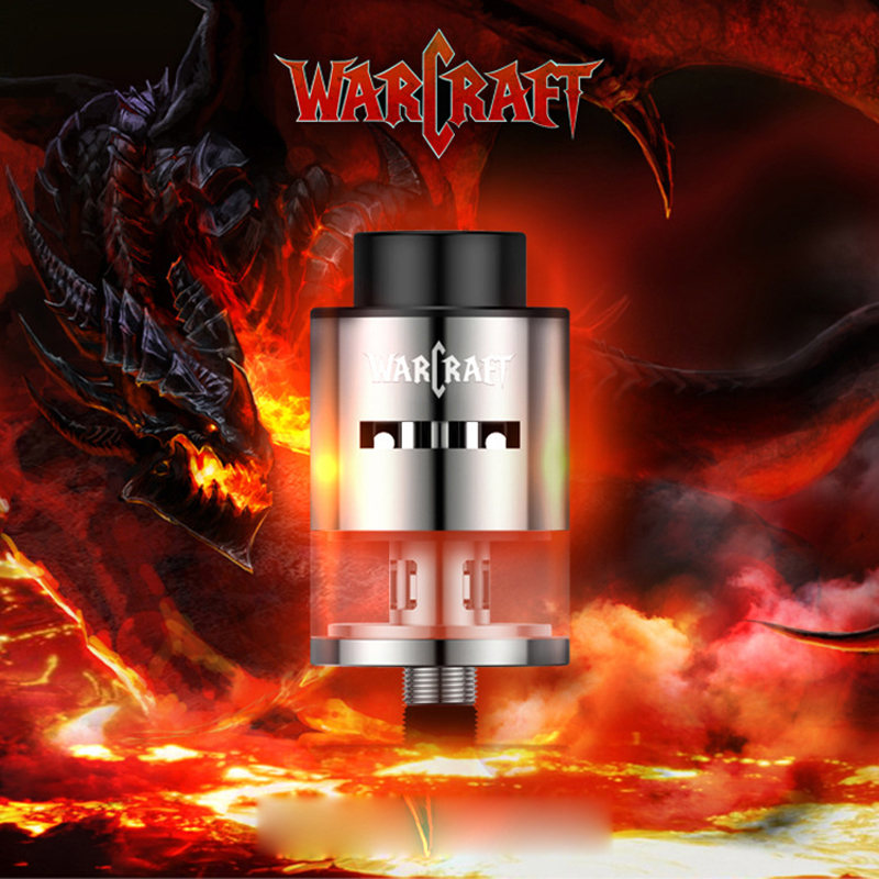 Electronic Cigarette RDTA Atomizer Kamry Warcraft One Plus RDA Model 24mm Vape Tank