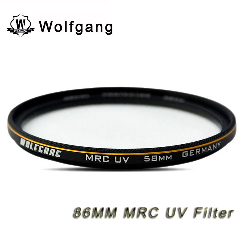 Wolfgang 86MM MRC UV Filter Lens Protector For Sigma 150-500 50-500