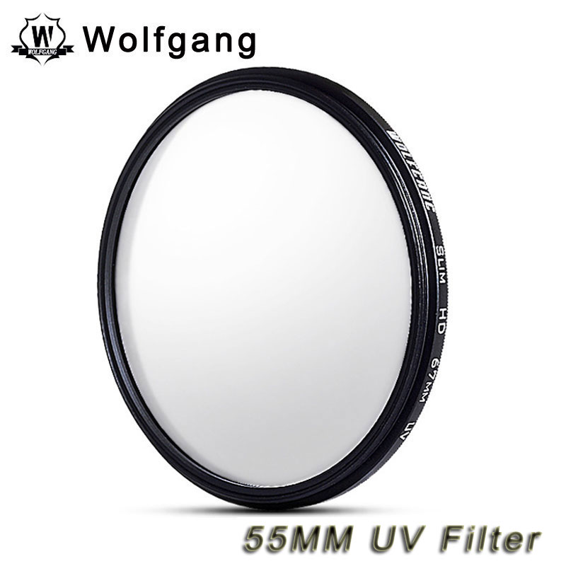 Wolfgang 55MM UV Filter Lens Protector For Sony 18-55