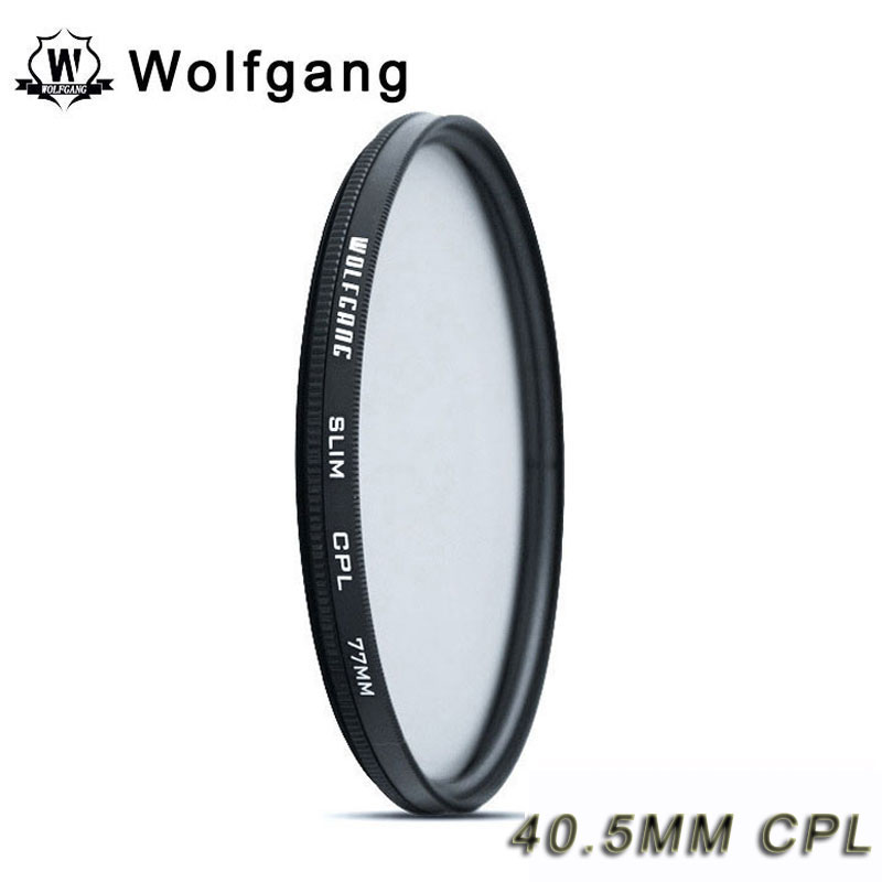 Wolfgang 40.5MM CPL Polarizing Filter Lens Protector For Sony 16-50