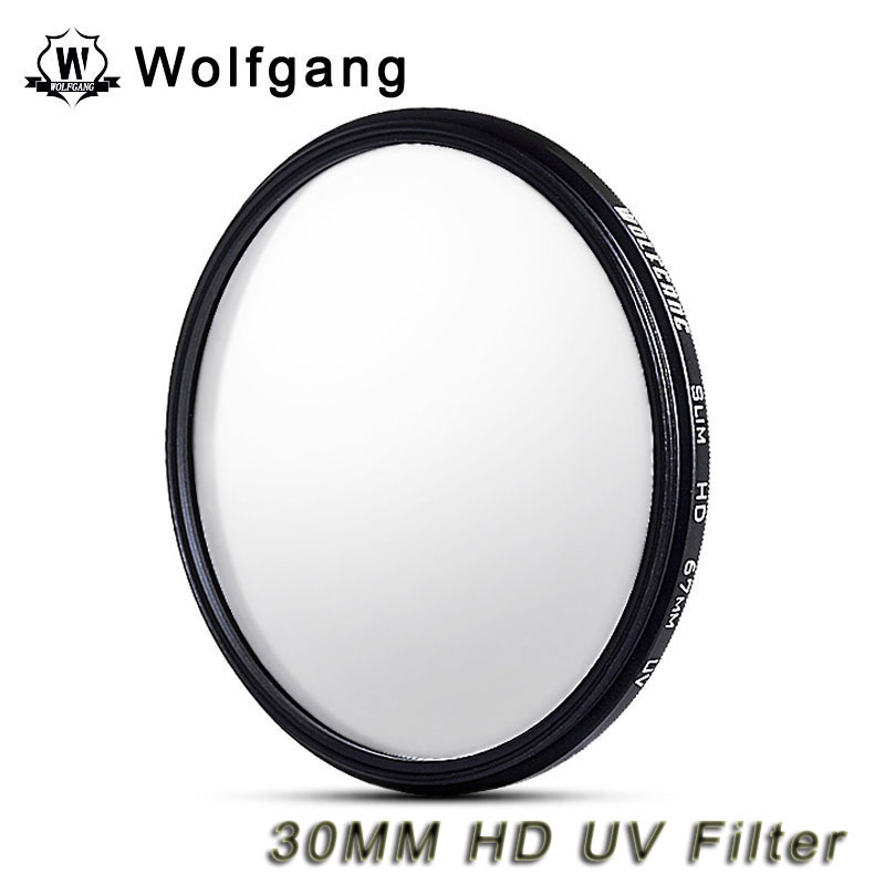 Wolfgang 30MM Ultra-Thin UV Filter Lens Protector High Definition