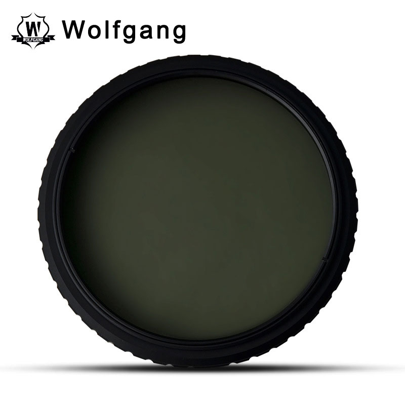 Wolfgang 58MM ND Filter Adjustable ND2-1200 For EOS 18-55 75-300
