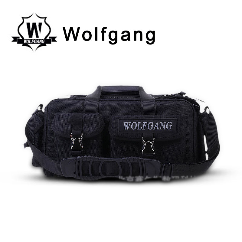 Wolfgang Photography Professional Shoulder Bag Black Nylon ZYB-001