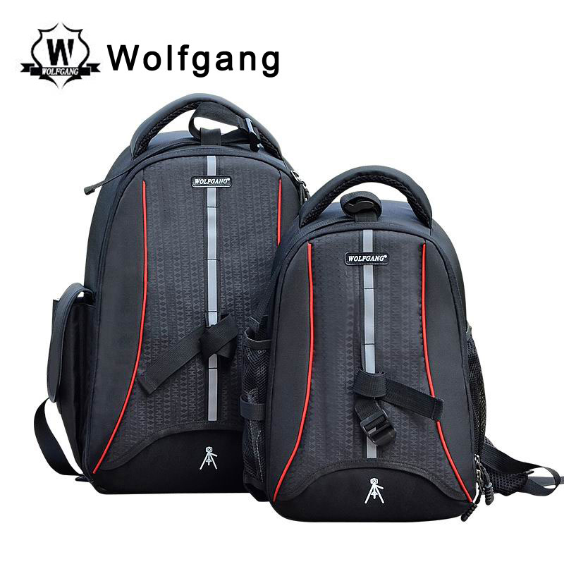 Wolfgang Photography Bag Black Nylon Outdoor Backpack SJB 006