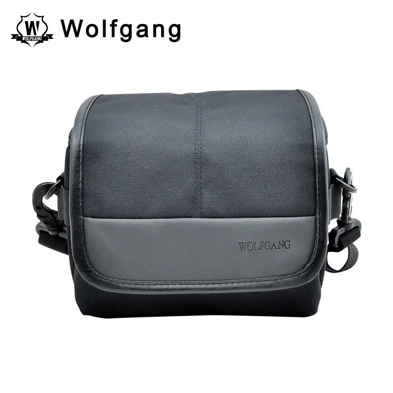 Wolfgang Photography Bag Black Nylon ILDC Shoulder Bag Waterproof