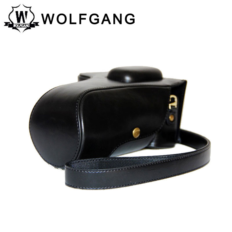 WOLFGANG Camera Protective Bag Leather Cover For Nikon D5300 D5200