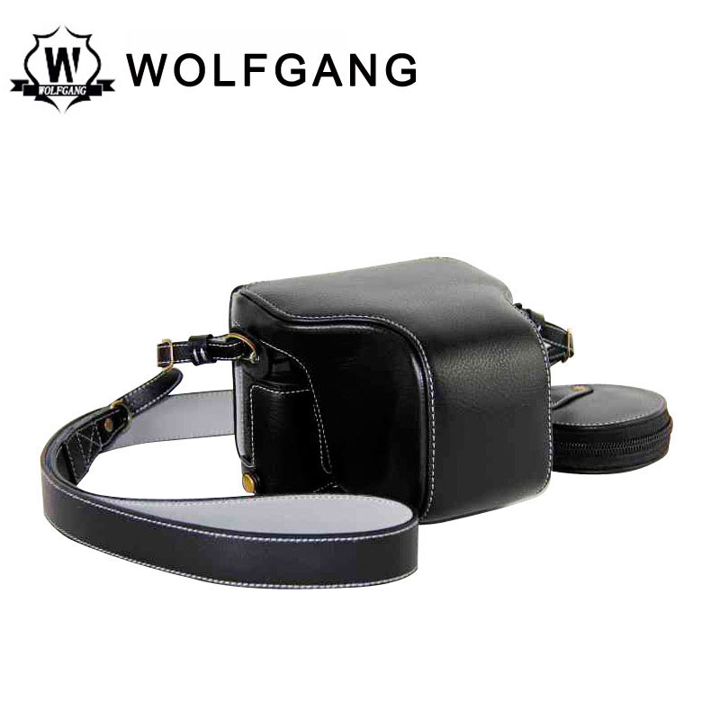 WOLFGANG Camera Protective Bag Leather Camera Holster For X-PRO2