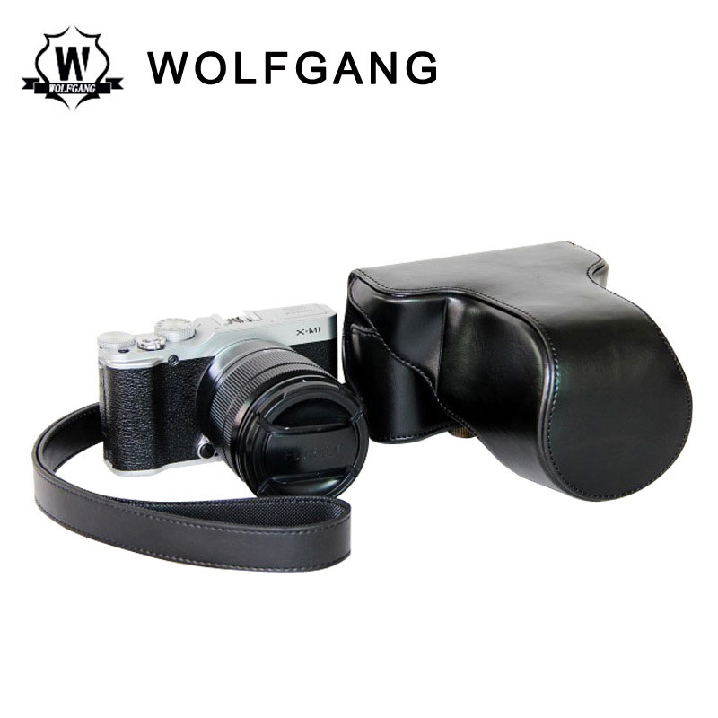 WOLFGANG Camera Leather Case ILDC Protective Holster For X-M1