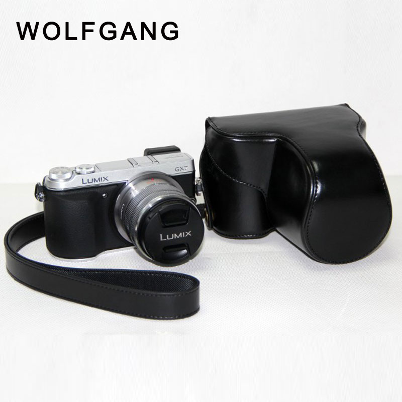 WOLFGANG Camera Leather Case Camera Protective Bag For Panasonic GX7
