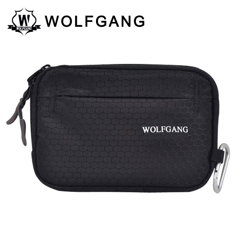 WOLFGANG Digital Camera Case Hard Disk Bag Black Nylon Waterproof