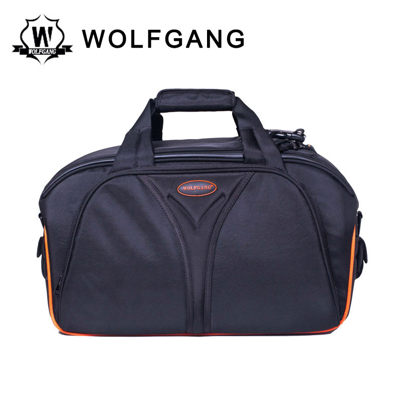 WOLFGANG Camera Bag Nylon Case Black Photography Bag For Sony 2500C