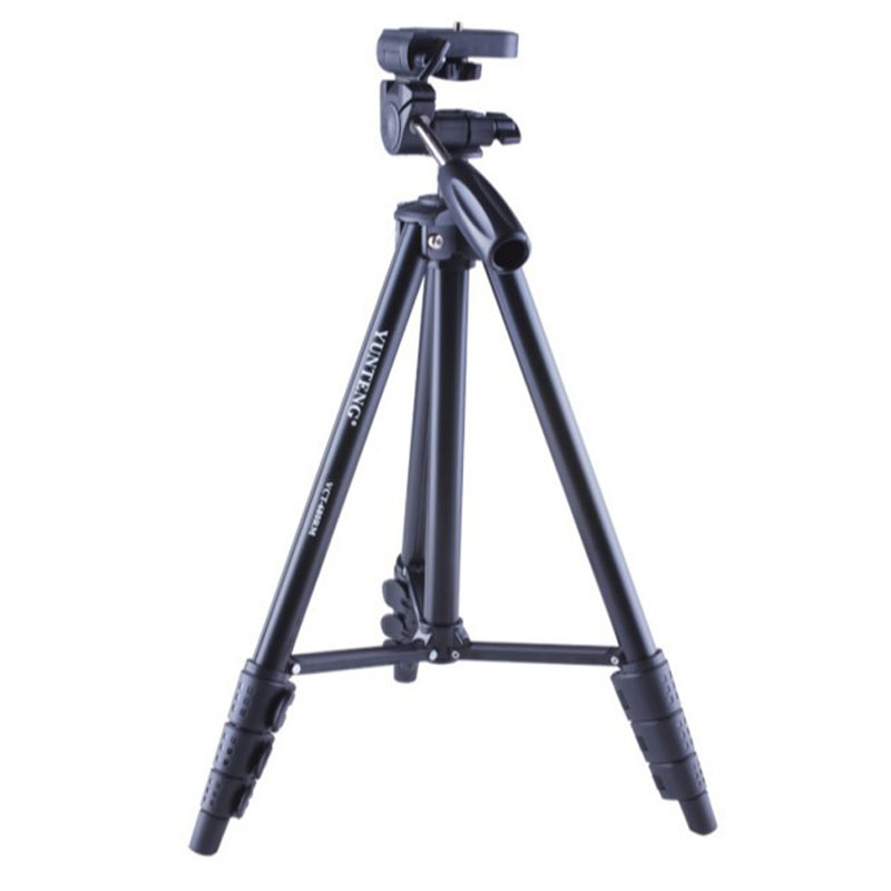 WOLFGANG Portable Camera Tripod Black 3-Dimensional Head VCT-680