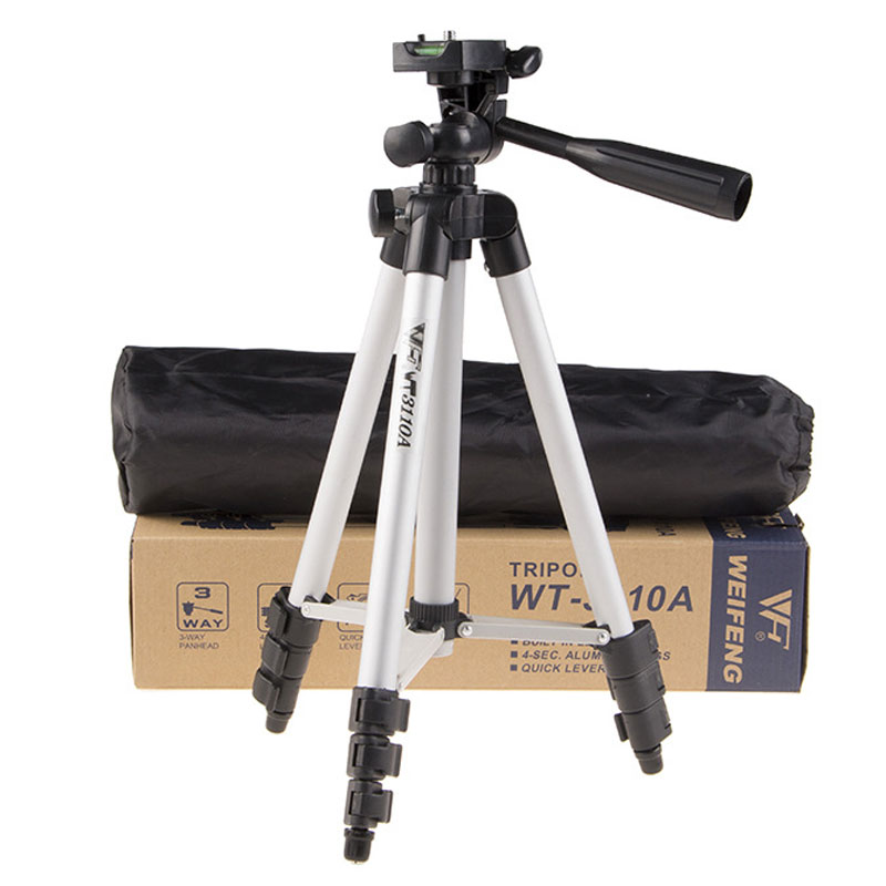 WOLFGANG Portable Camera Aluminum Tripod With Pan Head WF-3110A