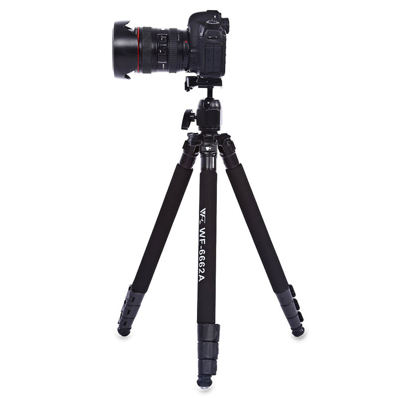 WOLFGANG Professional Portable Camera Tripod For DSLR SLR 6662A