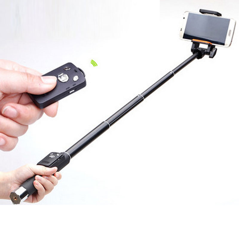 WOLFGANG Monopod Aluminum Selfie Stick Wireless Bluetooth Remote Shutter 888