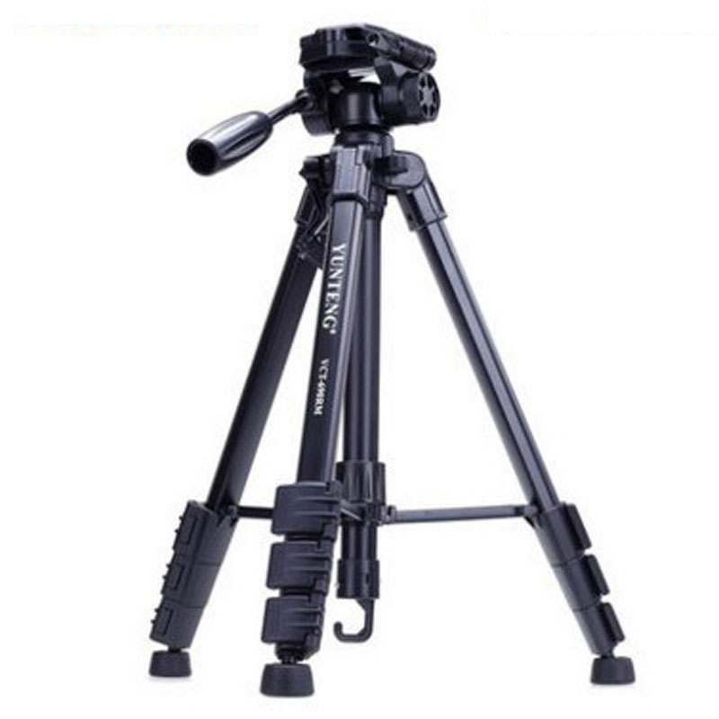WOLFGANG Professional Tripod Black For Canon Nikon DSLR Camera VCT-690