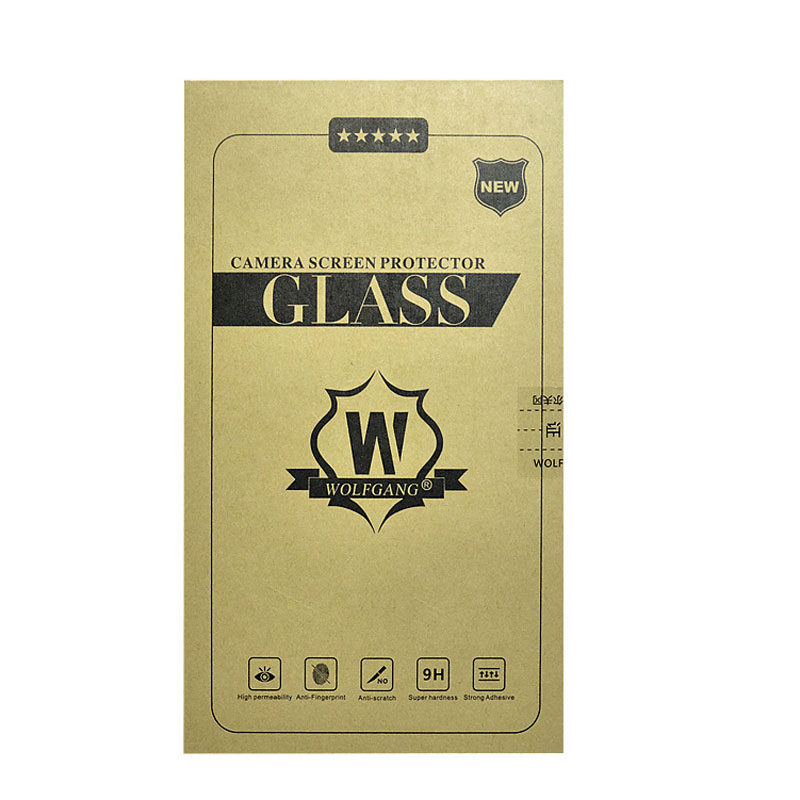 WOLFGANG Camera Tempred Glass Screen Protector For TR500 550 TX10 XA2