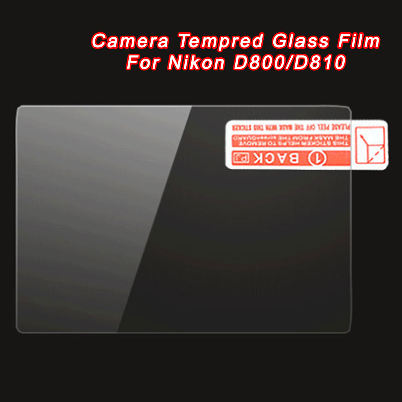 WOLFGANG Camera Tempred Glass Film Screen Protector For Nikon D800/D810