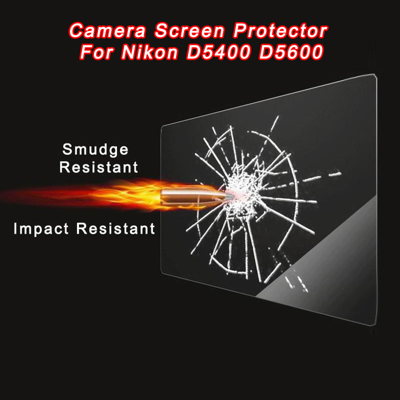 WOLFGANG Camera Tempred Glass Film LCD Screen Protector For Nikon D5400 D5600