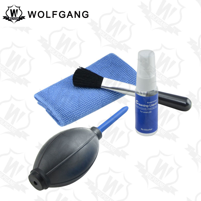 WOLFGANG Professional Camera Cleaning Kit 4 In 1 SLR Cleaning Kit
