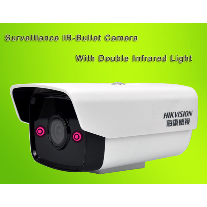 Surveillance IR-Bullet Camera POE 2 Megapixel With Double Infrared Light DS-2CD1221-I5