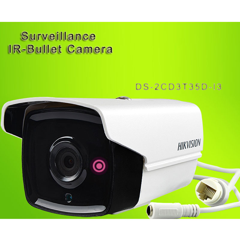 Surveillance IR-Bullet Camera 3 Megapixel CCTV IP Camera DS-2CD3T35D-I3