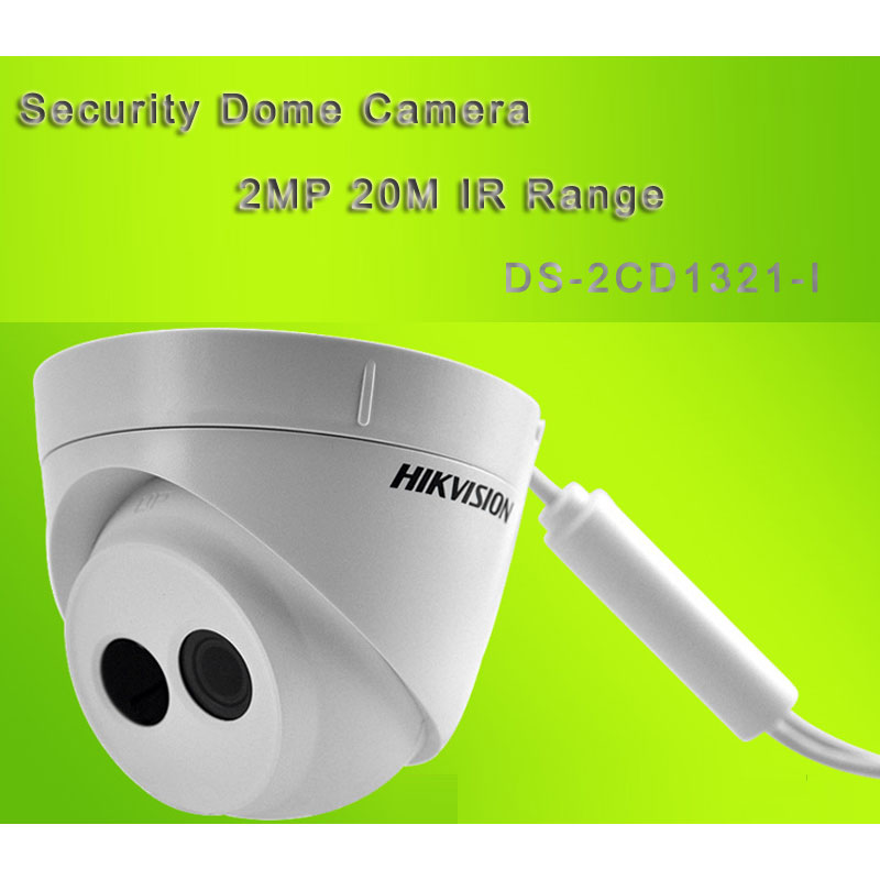 HIK Security Dome Camera With POE 20M IR Range 2MP DS-2CD1321-I