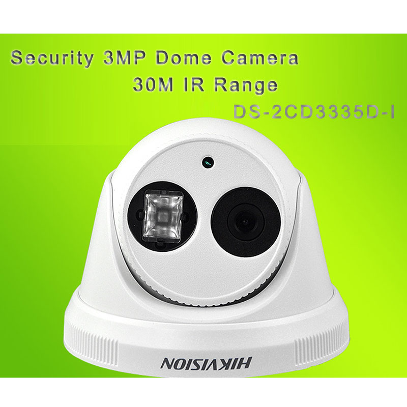 HIK Security 3MP HD Dome Camera With 30M IR Range DS-2CD3335D-I