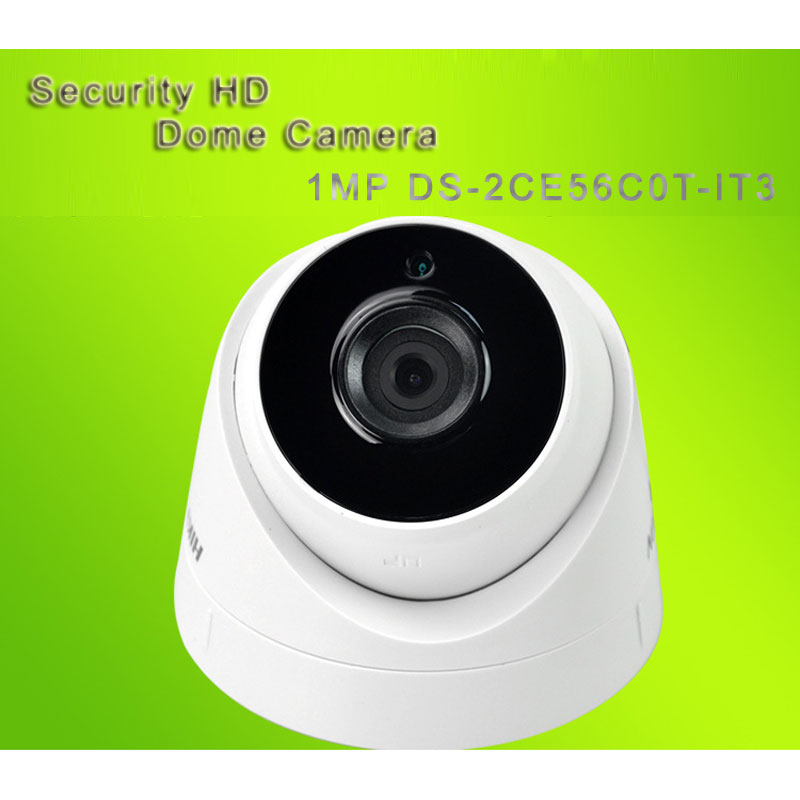 HIK Security HD Dome Camera With 30M IR Range 1MP DS-2CE56C0T-IT3
