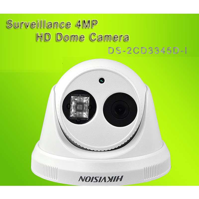 HIK Surveillance 4MP HD Dome Camera 1080P With 30M IR Range DS-2CD3345D-I