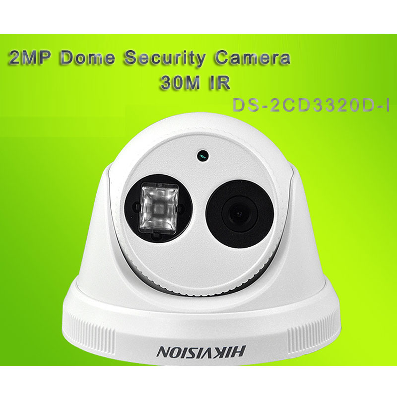 2MP Dome Security Camera CCTV IP With 30M IR Day/Night DS-2CD3320D-I