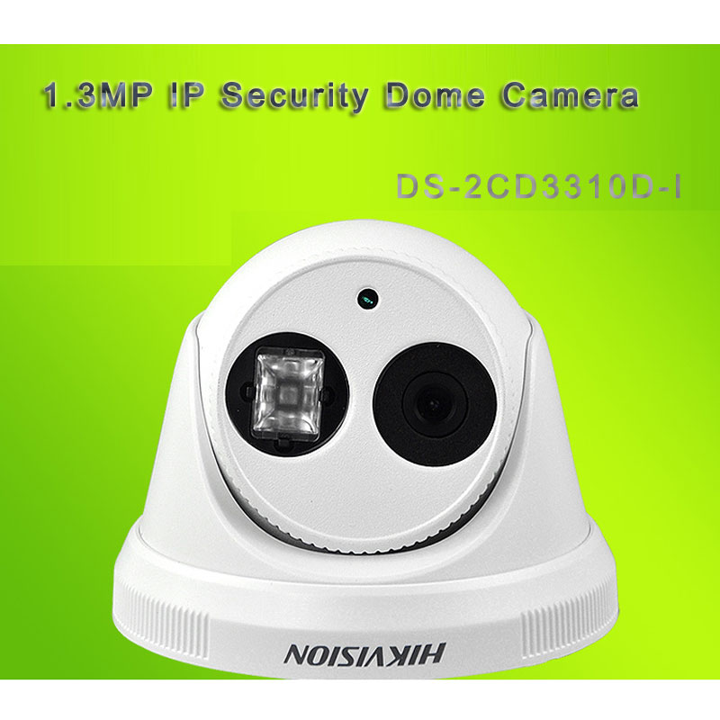 1.3MP IP Security Dome Camera Support ONVIF With 30M IR Day/Night DS-2CD3310D-I
