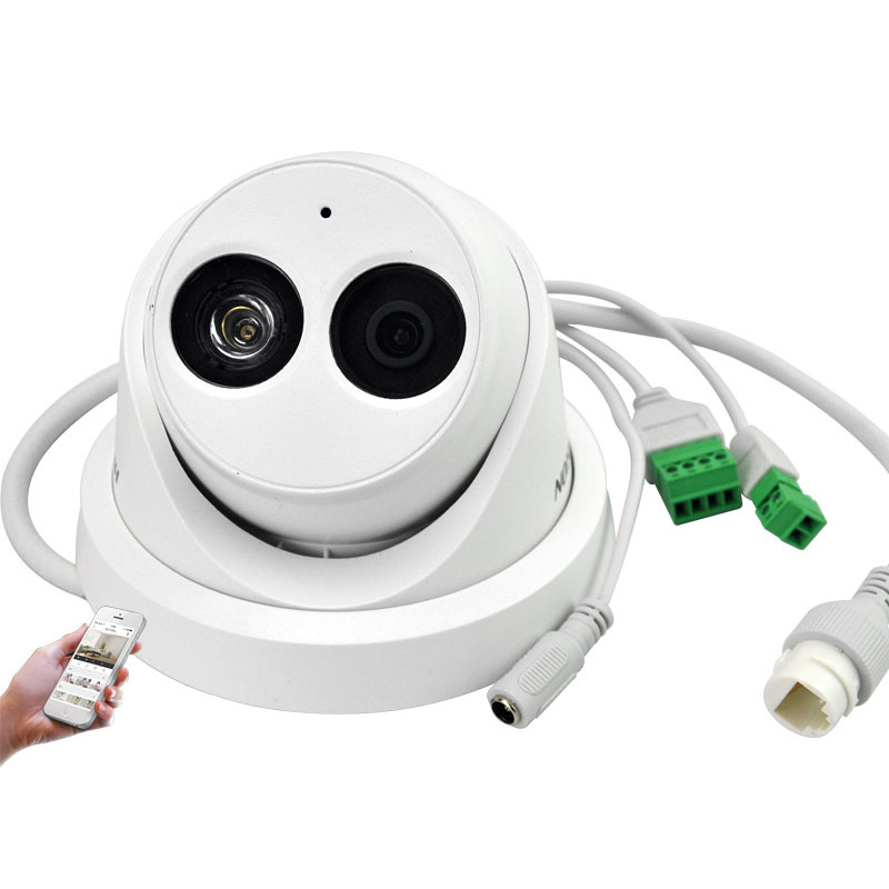 2MP Network Security Dome Camera Supports Cards With Audio Tape 30M IR DS-2CD3325F-IS