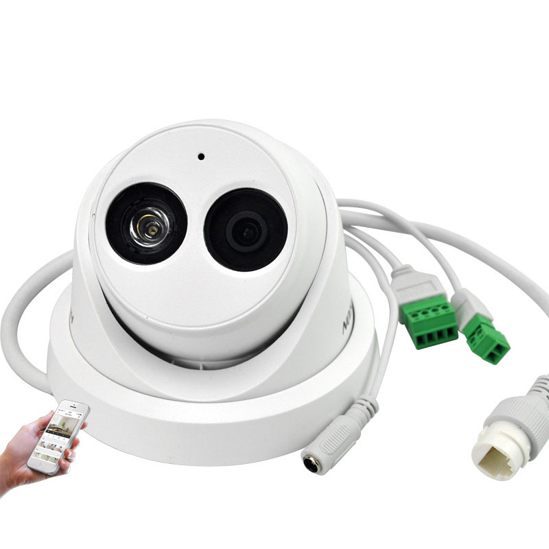 2MP Security Dome Camera H.265 Support TF Card With Audio Tape 30M IR DS-2CD3325FD-IS