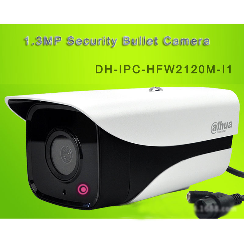1.3MP Security Bullet Camera 960P POE 30M IR DH-IPC-HFW2120M-I1