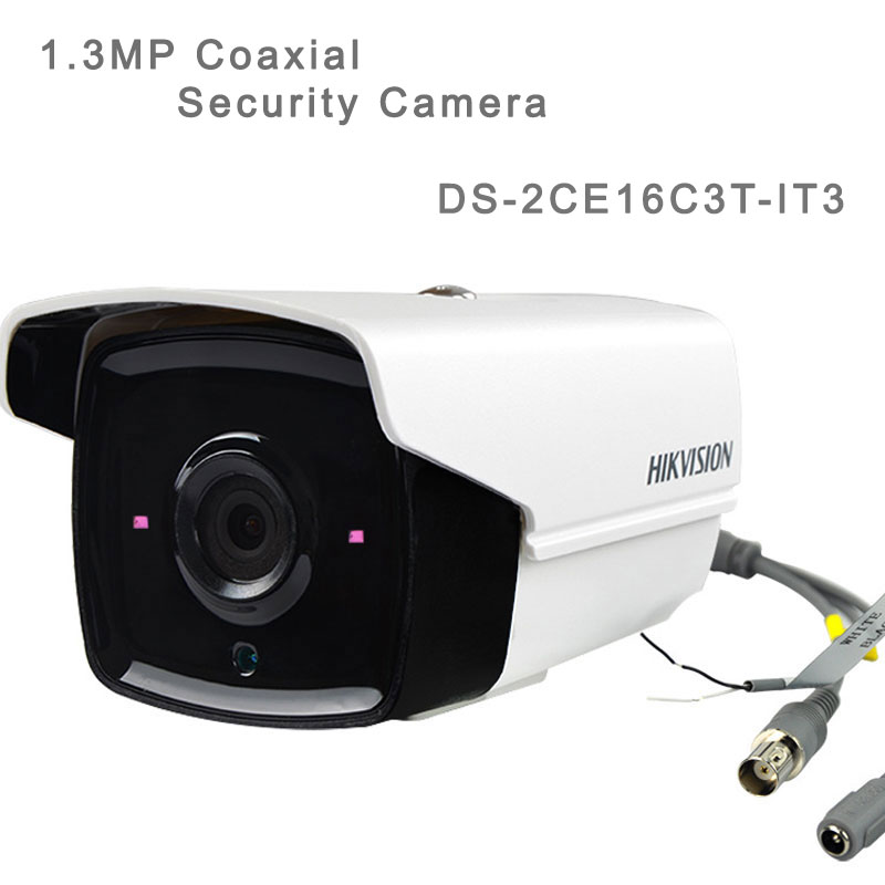 1.3MP Coaxial Security Camera With 30M IR Bullet Camera DS-2CE16C3T-IT3